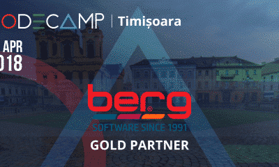 Berg Software at Codecamp Timișoara