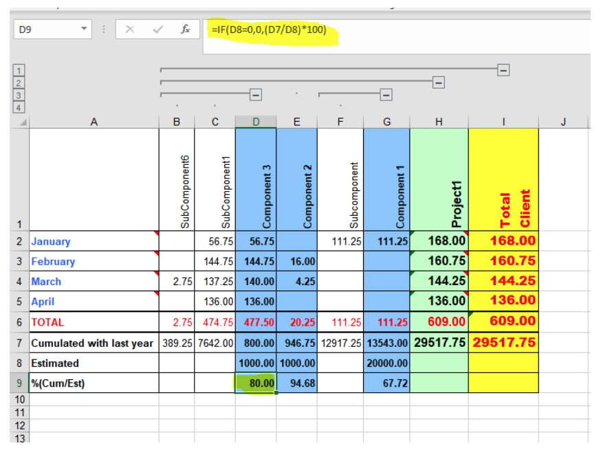 Berg Software - automated reporting - Java to Excel - Include formulas part 2